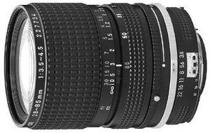 Nikon 28-85mm 3.5-4.5 czarny (JAA726AA)