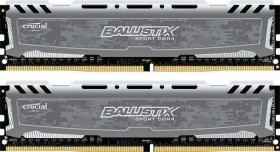 Crucial Ballistix Sport LT grau DIMM Kit 32GB, DDR4-3200, CL16-18-18 (BLS2C16G4D32AESB/BLS2K16G4D32AESB)