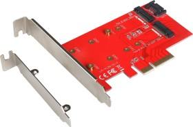 i-tec 2x M.2/2x SATA 6Gb/s, PCIe 3.0 x4 (PCE2M2)