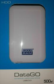"""Goodram DataGO White 2.5"""" 500GB, USB-A 3.0 (HDDGR-02-500)"""