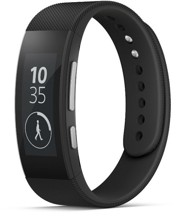 Sony SmartBand Talk SWR30 Small + Large schwarz