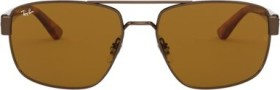 Ray-Ban RB3663 60mm brown-tortoise/brown classic (RB3663-918133)