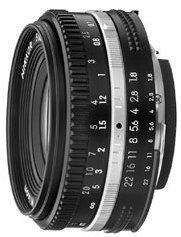 Nikon 50mm 1.8 black