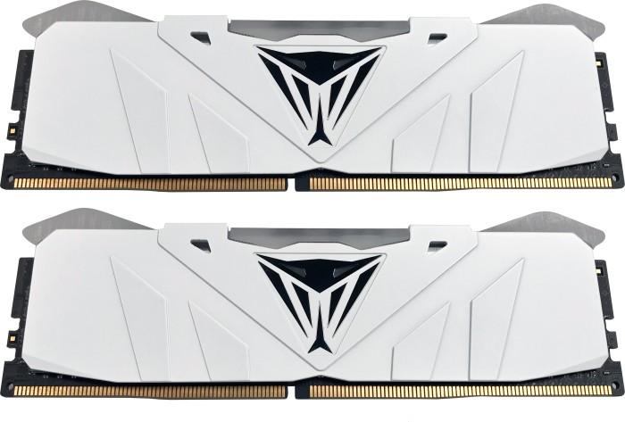 Patriot Viper RGB white DIMM kit 16GB, DDR4-3000, CL15-17-17-35 (PVR416G300C5KW)