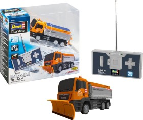 Revell Control Mini RC MAN TGS 28.430 Winter Service Truck (23487)