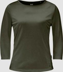 Jack Wolfskin JWP Shirt 3/4 green pine (Damen) (1806653-4070)