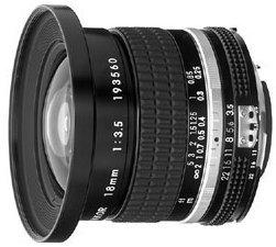 Nikon 18mm 3.5 black (JAA105AB)