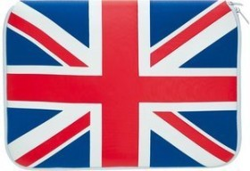 """Pat Says Now UK sleeve 11"""" blue/red (7014)"""