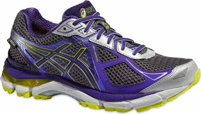 Asics GT-2000 3 GTX charcoal/deep purple/lime (Damen) (T556N-9736)