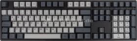 Ducky One PBT schwarz/grau, MX BLUE, USB, DE (DKON1608-CDEPHZAB5)