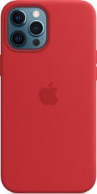 Apple Silikon Case mit MagSafe für iPhone 12 Pro Max rot (MHLF3ZM/A)