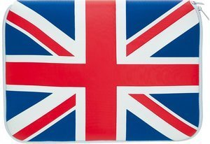 """Pat Says Now UK sleeve 15.4"""" blue/red (7038)"""