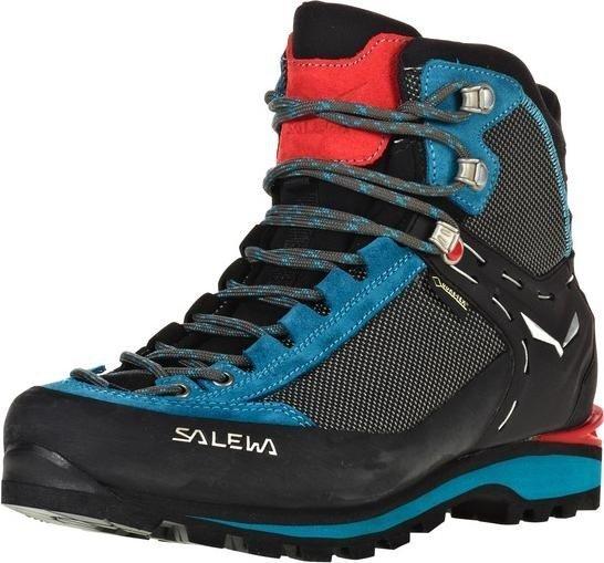 Salewa Damen WS Crow GTX Trekking-& Wanderstiefel, Blau (Premium Navy/Ethernal Blue 3985), 43 EU