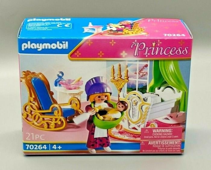 playmobil - Princess - Amme mit Babywiege (4254) -- via Amazon Partnerprogramm