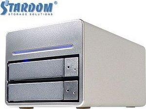 """RaidSonic Stardom SR3620-2S-SB2, 3.5"""", USB-A 2.0/eSATA (12086)"""