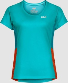 Jack Wolfskin Narrows Sky Shirt kurzarm aquamarine (Damen) (1807591-1105)