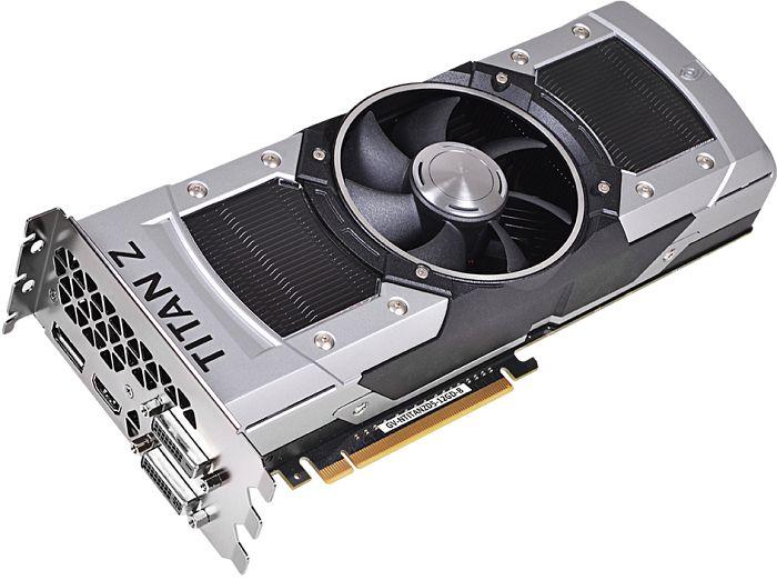 Gigabyte GeForce GTX Titan Z, 2x 6GB GDDR5, 2x DVI, HDMI, DisplayPort (GV-NTITANZD5-12GD-B)