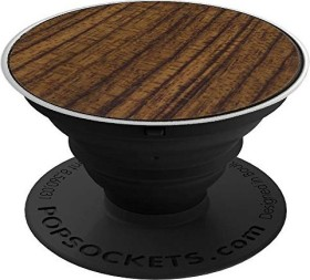 PopSockets PopGrip Wood Rosewood (96558)