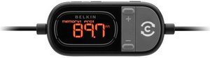 Belkin Tunecast car universal FM transmitter with Clearscan (F8Z439ea)