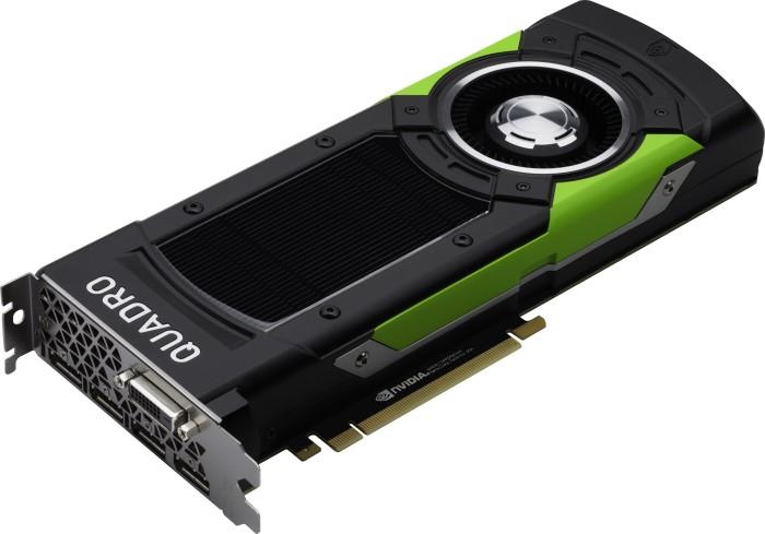 PNY Quadro P6000, 24GB GDDR5X, DVI, 4x DP (VCQP6000-PB/XVCQP6000-PB)