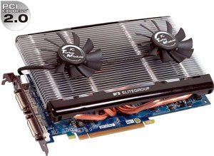 Elitegroup N8800GT-512MX DT, GeForce 8800 GT,  512MB DDR3, 2x DVI, TV-out, PCIe 2.0 (89-206-451106/-451115)