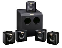 quadral surround 181 active, 1x subwoofer 120W, 5x satellites 80W
