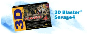 Creative 3D Blaster Savage 4 32MB AGP