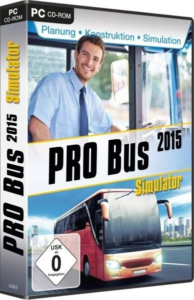 Pro Bus Simulator 2015 (German) (PC)