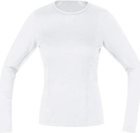 Gore Wear Base Layer Shirt langarm weiß (Damen) (100015-0100)