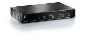 Level One FBR-1800TX OfficeCon Broadband-Router, 8x 10/100, Nway, Printer Server
