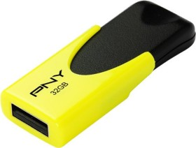 PNY N1 Classic Attaché 4 gelb 32GB, USB-A 2.0 (FD32GATT4NEOKY-EF)