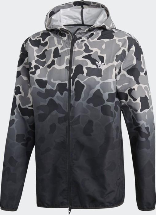 Adidas Camo Windbreaker Jacke, Mehrfarbig, XL: