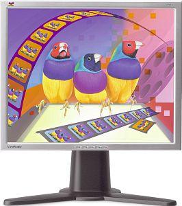 """ViewSonic VP171s 16ms srebrny, 17"""", 1280x1024, 2x analogowy/cyfrowy"""
