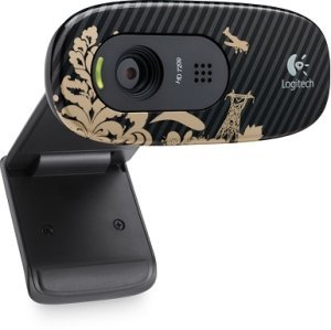 Logitech HD webcam C270 victorian wallpaper, USB 2.0 (960-000805)