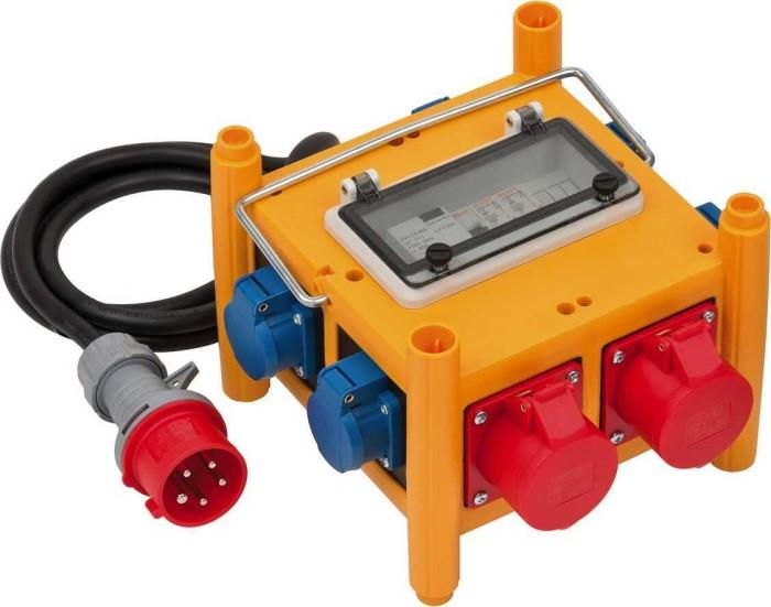 Brennenstuhl Kompakter Stromverteiler BSV 3 - FI/16 IP44 H07RN-F 5G2.5 (1153660301) -- via Amazon Partnerprogramm