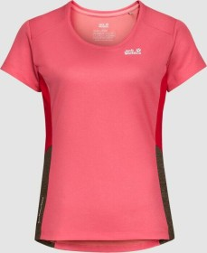 Jack Wolfskin Narrows Sky Shirt kurzarm coral pink (Damen) (1807591-2172)