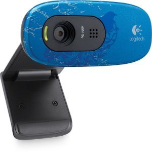 Logitech HD webcam C270 indigo scroll, USB 2.0 (960-000806)
