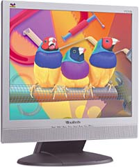 "ViewSonic VG510s 25ms silber, 15"", 1024x768, analog/digital, Audio"