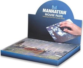 Manhattan Fine Art Collection mousepad, 24-pack (423496)