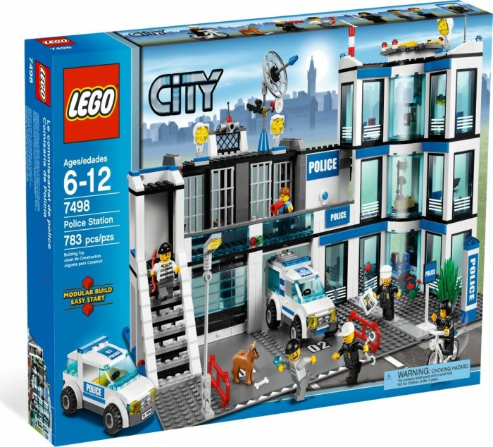 LEGO - City Police - Police station (7498) -- via Amazon Partnerprogramm