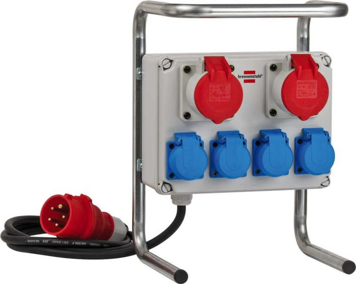 Brennenstuhl Kompakter Kleinstromverteiler BKV 2/4 G IP44 H07RN-F 5G1.5 (1153750) -- via Amazon Partnerprogramm
