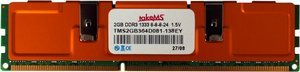 takeMS DIMM   4GB, DDR3-1333, CL9 (TMS4GB364E08x-139)