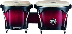 Meinl HB100WRB Wine Red Burst Headliner Serie Wood Bongos
