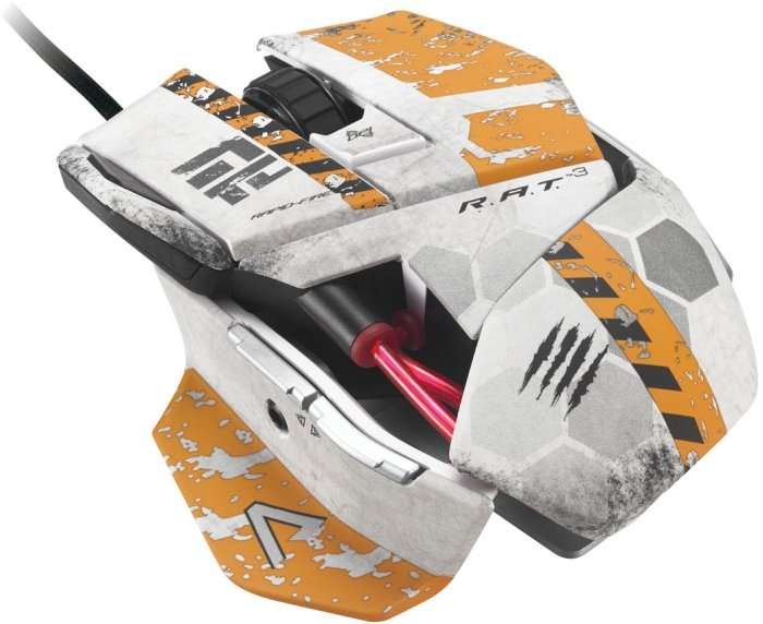 MadCatz Cyborg R.A.T 3 Gaming Mouse Titanfall, USB (TTF437030001)