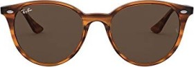 Ray-Ban RB4305 53mm red striped-havana/dark brown classic (RB4305-820/73)