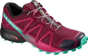 Salomon Speedcross 4 beet red/electric green/black (Damen) (407381)