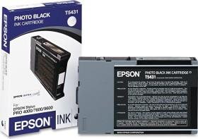 Epson Tinte T5431 schwarz photo (C13T543100)