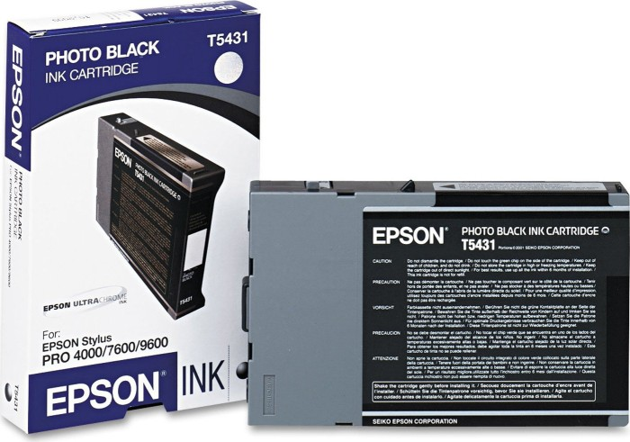 Epson T5431 Tinte schwarz photo (C13T543100)