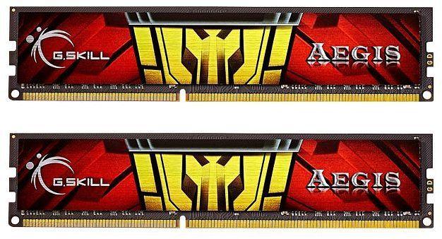 G.Skill Aegis DIMM Kit 16GB, DDR3-1333, CL9-9-9-24 (F3-1333C9D-16GIS)