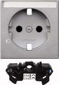 Merten System M Erweiterungsset Überspannungsschutz, aluminium (MEG2335-0460)